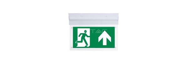 LED Sicherheitsbeleuchtung für Notfall & Ausgang