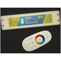 RGB Controller und Netzteil in einem. 36W, inklusive...