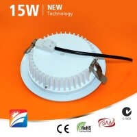 LED-Downlight, 15W, 230AC, 120°, dm 182mm, cut-out 150mm