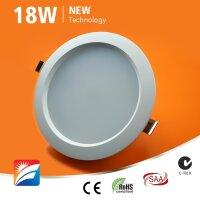 LED-Downlight, 18W, 230AC, 120°, dm 189mm, cut-out 170mm