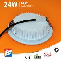 LED-Downlight, 24W, 230AC, 120°, dm 230mm, cut-out 200mm