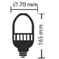 LED-Ersatzbirne, E27, 25W, für Straßenleuchten