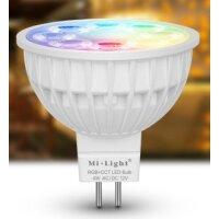 MR16 Spotlight, RGB+ CCT, 2700-6500K, 4W, 25ø